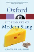 Cover for Oxford Dictionary of Modern Slang