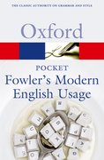Cover for Pocket Fowler