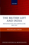 Cover for The British Left and India