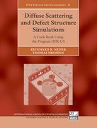 Cover for Diffuse Scattering and Defect Structure Simulations