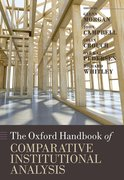 Cover for The Oxford Handbook of Comparative Institutional Analysis