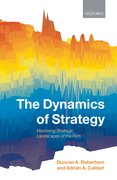 Cover for The Dynamics of Strategy