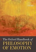 Cover for The Oxford Handbook of Philosophy of Emotion
