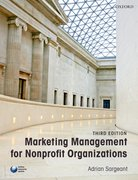 Cover for Marketing Management for Nonprofit Organizations