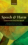 Cover for Speech and Harm