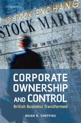 Cover for Corporate Ownership and Control