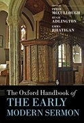 Cover for The Oxford Handbook of the Early Modern Sermon