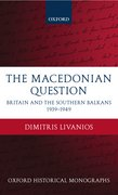 Cover for The Macedonian Question