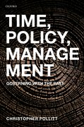 Cover for Time, Policy, Management