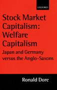 Cover for Stock Market Capitalism: Welfare Capitalism