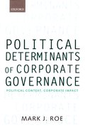 Cover for Political Determinants of Corporate Governance