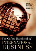 Cover for The Oxford Handbook of International Business