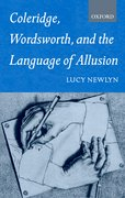 Cover for Coleridge, Wordsworth, and the Language of Allusion