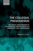 Cover for The Collegial Phenomenon