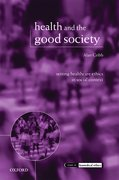 Cover for Health and the Good Society