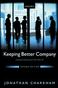 Cover for Keeping Better Company