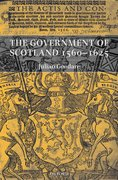 Cover for The Government of Scotland 1560-1625