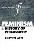 Cover for Feminism and History of Philosophy