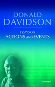 Cover for Essays on Actions and Events