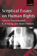 Cover for Sceptical Essays on Human Rights