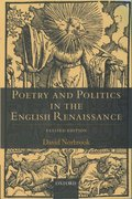 Cover for Poetry and Politics in the English Renaissance