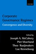 Cover for Corporate Governance Regimes