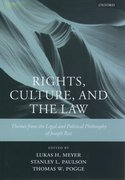 Cover for Rights, Culture and the Law
