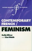Cover for Contemporary French Feminism