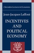 Cover for Incentives and Political Economy