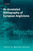 Cover for An Annotated Bibliography of European Anglicisms