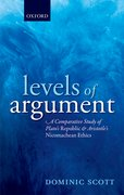 Cover for Levels of Argument