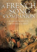 Cover for A French Song Companion