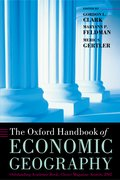 Cover for The Oxford Handbook of Economic Geography