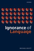 Cover for Ignorance of Language