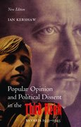 Cover for Popular Opinion and Political Dissent in the Third Reich