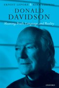 Cover for Donald Davidson