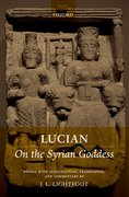 Cover for Lucian: <i>On the Syrian Goddess</i>