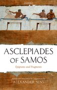 Cover for Asclepiades of Samos