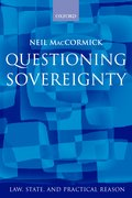 Cover for Questioning Sovereignty