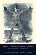 Cover for Politics and Culture in Victorian Britain