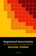 Cover for Organized Uncertainty