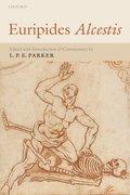 Cover for Euripides <i>Alcestis</i>