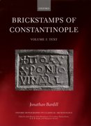 Cover for Brickstamps of Constantinople