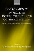 Cover for Environmental Damage in International and Comparative Law