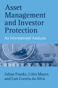 Cover for Asset Management and Investor Protection