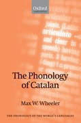 Cover for The Phonology of Catalan