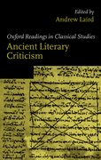 Cover for Ancient Literary Criticism