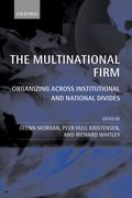 Cover for The Multinational Firm
