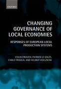 Cover for Changing Governance of Local Economies