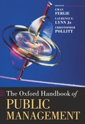 Cover for The Oxford Handbook of Public Management